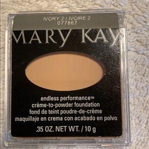 Mary Kay cream to powder foundation Ivory two